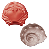 Crab & Shell Guest Soap Mold (MW 302)