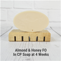 Almond Honey Fragrance Oil in CP Soap