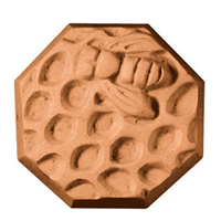 Bee and Honeycomb Soap Mold (MW 07)