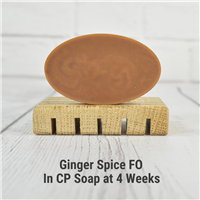 Ginger Spice FO in CP Soap