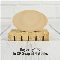 Bayberry* Fragrance Oil in CP Soap