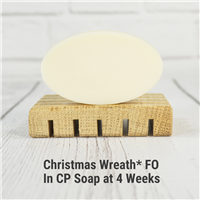 Christmas Wreath* FO in CP Soap