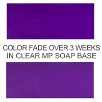 Stained Glass Violet Purple Soap Color Blocks