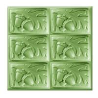Acorn Tray Soap Mold (MW 442)