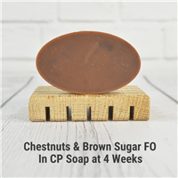 Chestnuts & Brown Sugar FO in CP Soap