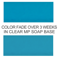 Stained Glass Sea Blue-Green Powder Color