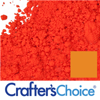 Stained Glass Citrus Orange Powder Color