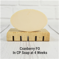 Cranberry Fragrance Oil in CP Soap
