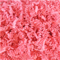 Bright Pink Crinkle Paper