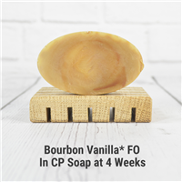 Bourbon Vanilla* FO in Cold Process Soap