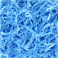 Light Blue Crinkle Paper
