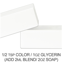 Titanium Dioxide Pigment Powder - For Water