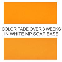 Stained Glass Citrus Orange Liquid Color