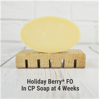 Holiday Berry* FO in CP Soap