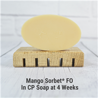 Mango Sorbet* FO in CP Soap