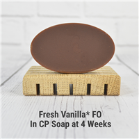 Fresh Vanilla FO in Cold Process Soap