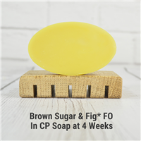 Brown Sugar & Fig* FO in CP Soap