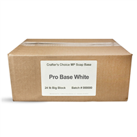 Pro Base White MP Soap Base - 24 lb Block