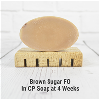 Brown Sugar FO in Cold Process Soap