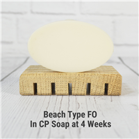 Beach Type Fragrance Oil in CP Soap