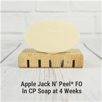 Apple Jack N Peel FO in CP Soap