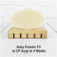 Baby Powder FO in Cold Process Soap