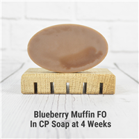 Blueberry Muffin FO in Cold Process Soap