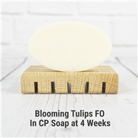 Blooming Tulips FO in Cold Process Soap