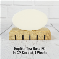 English Tea Rose Fragrance Oil in CP Soap