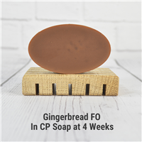 Gingerbread FO in Cold Process Soap