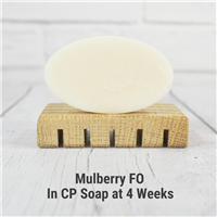 Mulberry Fragrance Oil in cold process soap.