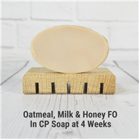 Oatmeal Milk and Honey Fragrance Oil in CP Soap