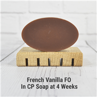 French Vanilla FO in Cold Process Soap