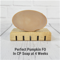 Perfect Pumpkin Fragrance Oil in CP Soap