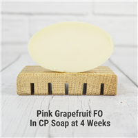 Pink Grapefruit FO in CP Soap