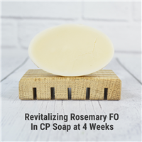 Revitalizing Rosemary Mint FO in CP Soap
