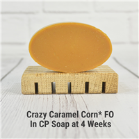 Crazy Caramel Corn* FO in CP Soap