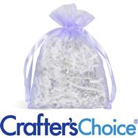 """Organza Bag - Lavender (6.5"""" x 5"""")"""
