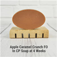 Apple Caramel Crunch FO in CP Soap