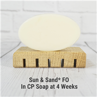 Sun & Sand* Fragrance Oil in CP Soap
