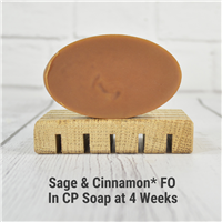 Sage & Cinnamon* FO in CP Soap