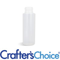 01 oz Natural Cylinder Plastic Bottle 20/410