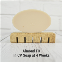Almond FO in CP Soap