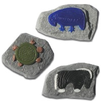 African Animal Petroglyphs Soap Mold (Spec Order)