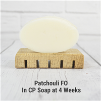 Patchouli Fragrance Oil in CP Soap