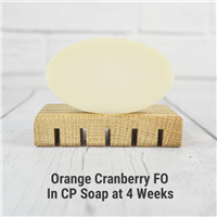 Orange Cranberry FO in CP Soap