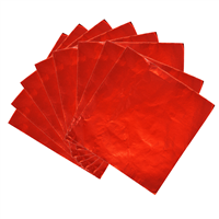 Foil Wrappers - Red