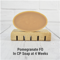 Pomegranate FO in CP Soap