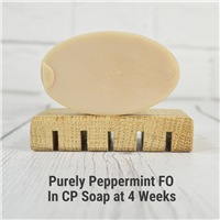 Purely Peppermint FO in CP Soap