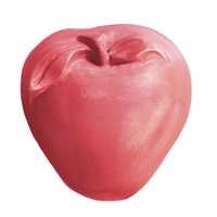 Apple with Leaf Soap Mold (MW 510)
